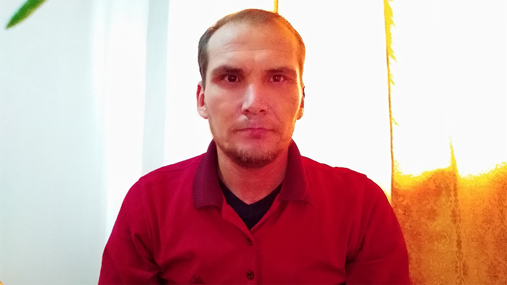 A recent photo of Saparmamed Nepeskuliev taken on December 5. He was released in May this year after spending 3 years in prison on charges of possessing Tramadol. / Saparmamed Nepeskuliev